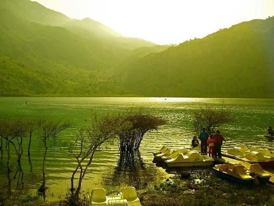Kournas Lake in Crete
