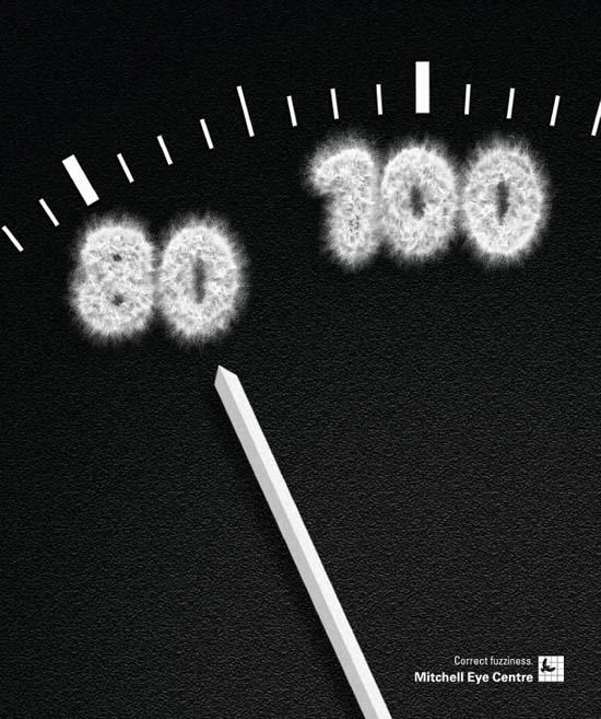 Mitchell Eye Centre Speedometer