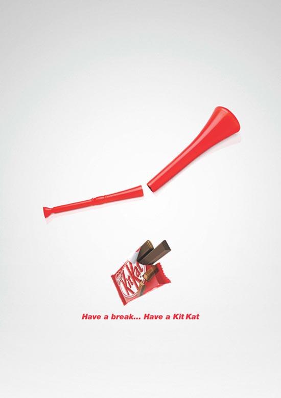 Nestlé Kit Kat Vuvuzela