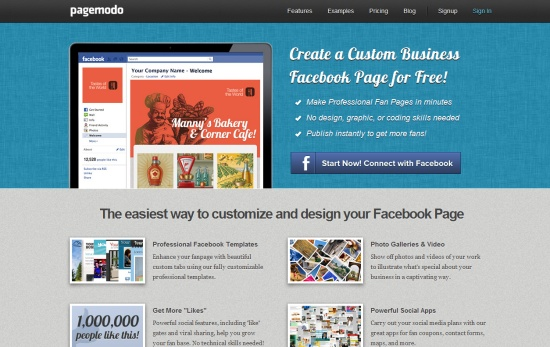 11 Effective Tools For Creating Facebook Fan Pages