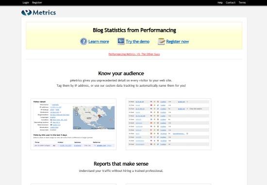 Performancing Metrics