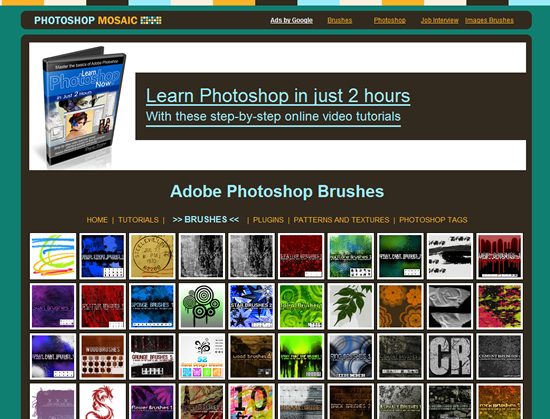 Photoshop Mosaic - Photoshop Brush Site