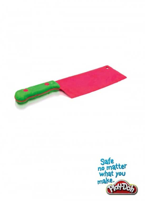 "Play-Doh ""Safe no matter what you make."