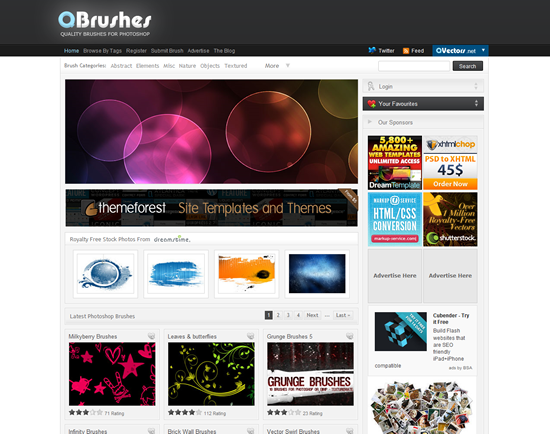 Q Brushes - Photoshop Brush Site