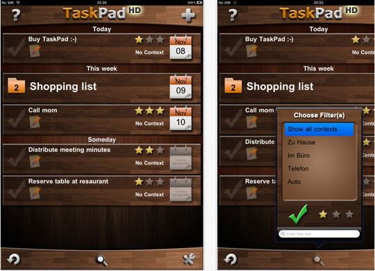 TaskPad HD App