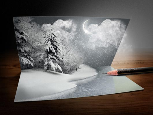 Christmas Photoshop Tutorial  Photoshop tutorial