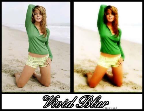 Vivid Blur Photo Effect