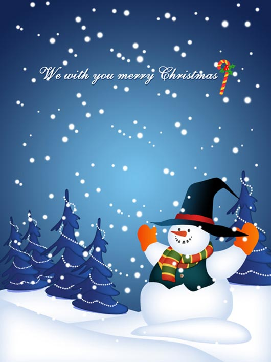 We wish you a Merry Christmas.1