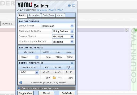 YAML Builder