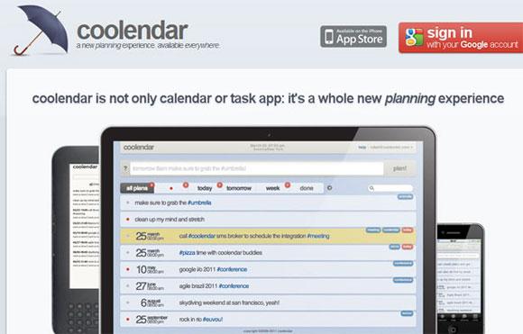 Coolendar-app