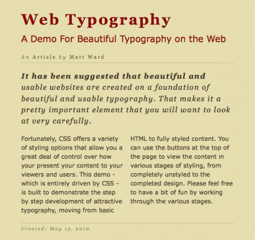 create-beautiful-css3-typography