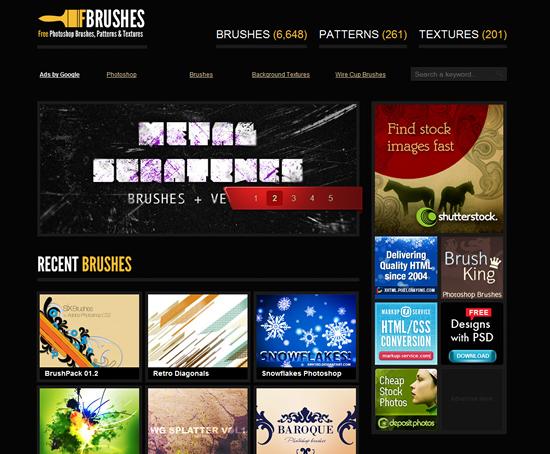 fbrushes - Photoshop Brush Site