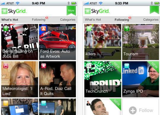 Skygrid app