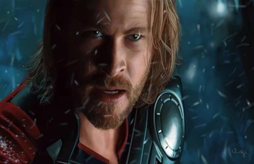 Thor Digital Painting