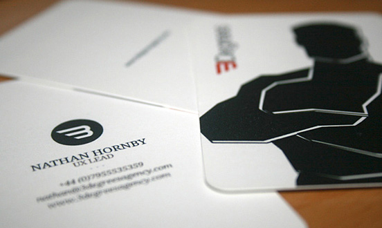 3 Degrees Business Card
