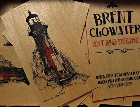 Brent Clowater Business Card