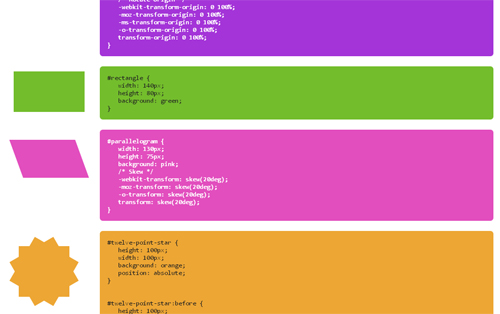 CSS3 Shapes