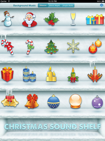 Christmas Sound Shelf Free