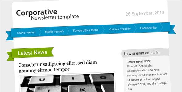 net information center 30 free html email newsletter templates