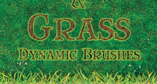 Dynamic Dirt and Grass Brushes