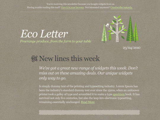 Eco Letter