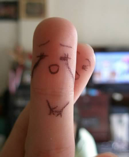 Finger-Drawings-On-Hands-12