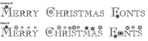 Flakes christmas -3