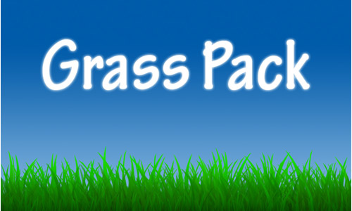 Grass Brush Pack