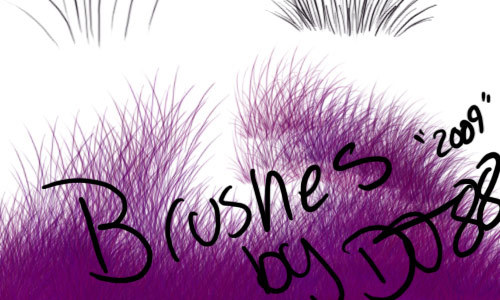Grass Brushes
