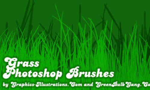 Grass Photoshop Brushes