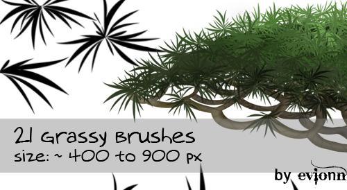 Grassy Brushes