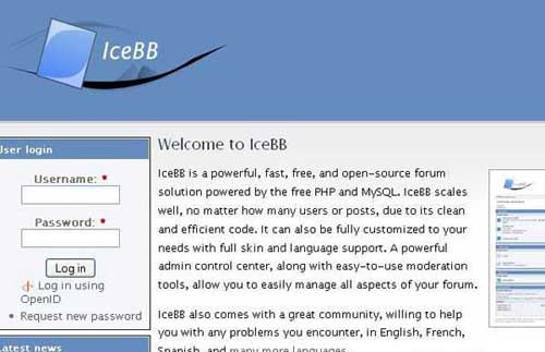 IceBB Forums