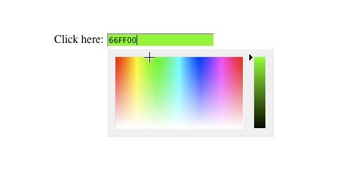 JScolor