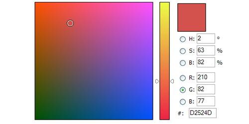 Javascript Color Picker