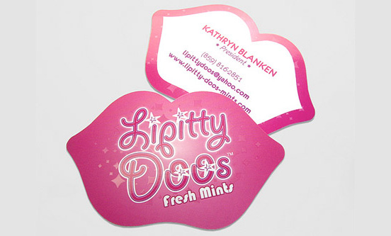 Lipitty Doos Business Card