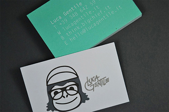 Luca Gentile Business Card