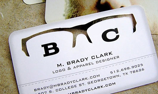 M. Brady Clark Business Card
