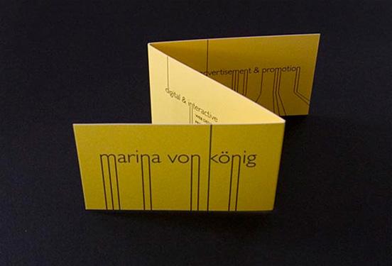 Marina Von König Business Card
