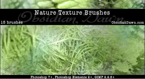 Nature Textures PS Brushes