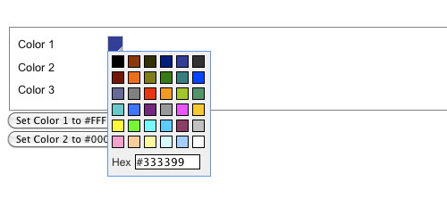 Really Simple Color Picker