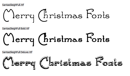 Merry Christmas Fonts Images.25 Beautiful Free Christmas Fonts