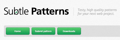Subtle Patterns