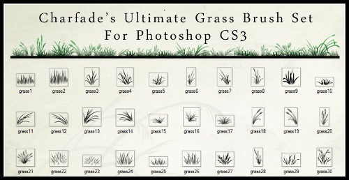 Ultimate Grass Brush Set
