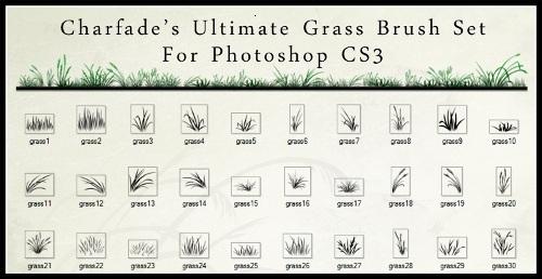 Ultimate Grass Brush Set