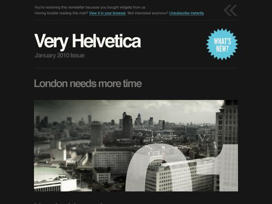 Very Helvetica