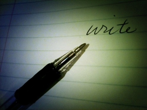 Write on Paper For a Change