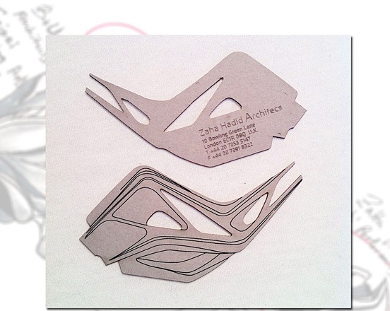 Zaha Hadid Architects Business Card