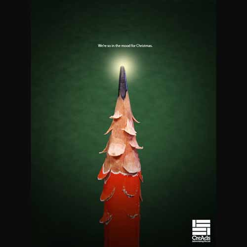 CreAds: Christmas Pencil