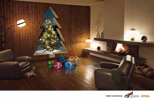 Stihl Chainsaw: Merry Christmas