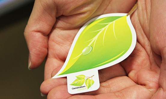 Generation Green Business Card